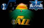 NBA 2009 10赛季犹他爵士桌面壁纸 ALL STAR GREEN GOLD桌面壁纸 NBA200910赛季犹他爵士桌面壁纸 体育壁纸