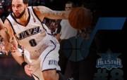 NBA 2009 10赛季犹他爵士桌面壁纸 ALL STAR PHYSICAL桌面壁纸 NBA200910赛季犹他爵士桌面壁纸 体育壁纸