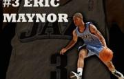 NBA 2009 10赛季犹他爵士桌面壁纸 ERIC MAYNOR桌面壁纸 NBA200910赛季犹他爵士桌面壁纸 体育壁纸