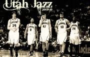 NBA 2009 10赛季犹他爵士桌面壁纸 TEAM桌面壁纸 NBA200910赛季犹他爵士桌面壁纸 体育壁纸
