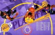 NBA2009总冠军湖人队壁纸 NBA2009总冠军湖人队壁纸 体育壁纸