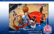 NBA壁纸底特律活塞队官方桌面壁纸 体育壁纸