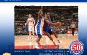 NBA壁纸底特律活塞队全明星周末和0708赛季桌面壁纸 体育壁纸