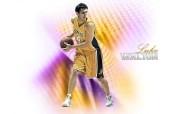 NBA湖人队球星壁纸 体育壁纸