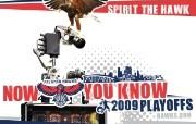 NBA老鹰队 Hawks 2009季后赛壁纸 体育壁纸