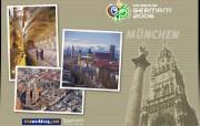世界杯比赛城市主题壁纸 体育壁纸