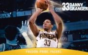 NBA 印第安纳步行者队2008 09赛季官方桌面壁纸 Danny Granger图片壁纸 印第安纳步行者队200809赛季壁纸 体育壁纸