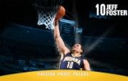NBA 印第安纳步行者队2008 09赛季官方桌面壁纸 Jeff Foster图片壁纸 印第安纳步行者队200809赛季壁纸 体育壁纸