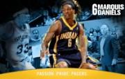 NBA 印第安纳步行者队2008 09赛季官方桌面壁纸 Marquis Daniels图片壁纸 印第安纳步行者队200809赛季壁纸 体育壁纸