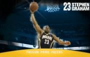 NBA 印第安纳步行者队2008 09赛季官方桌面壁纸 Stephen Graham图片壁纸 印第安纳步行者队200809赛季壁纸 体育壁纸
