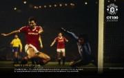 英超 曼联老特拉福德球场100周年纪念壁纸 OT100 1984 Robbo s Finest Hour桌面壁纸 英超曼联老特拉福德球场100周年纪念壁纸 体育壁纸
