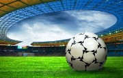 超大足球写真 体育壁纸