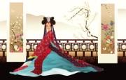 朝鲜族女性 宽屏壁纸 系统壁纸
