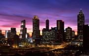 城市夜景宽屏壁纸 系统壁纸