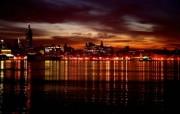 高清城市夜景宽屏壁纸 壁纸28 高清城市夜景宽屏壁纸 系统壁纸