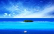 高清精美水景海洋湖泊瀑布宽屏壁纸 壁纸2 高清精美水景海洋湖泊 系统壁纸