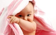 可爱Baby婴儿宽屏高清壁纸 壁纸2 可爱Baby婴儿宽屏 系统壁纸