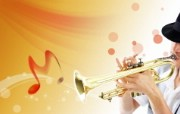 宽屏壁纸:合成音乐 系统壁纸