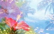 朦胧花朵柔美 宽屏壁纸 壁纸3 朦胧花朵柔美 宽屏壁 系统壁纸