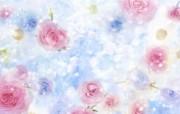 朦胧花朵柔美 宽屏壁纸 壁纸6 朦胧花朵柔美 宽屏壁 系统壁纸