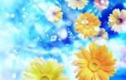 朦胧花朵柔美 宽屏壁纸 壁纸26 朦胧花朵柔美 宽屏壁 系统壁纸