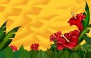 Photoshop花卉欣赏 系统壁纸