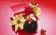 圣诞装饰物品特写 系统壁纸
