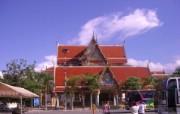 泰国大城王朝遗迹 宽 系统壁纸