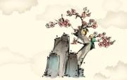 中国风水墨画 宽屏壁纸 壁纸5 中国风水墨画 宽屏壁 系统壁纸