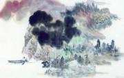 中国风水墨画 宽屏壁纸 壁纸7 中国风水墨画 宽屏壁 系统壁纸