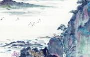 中国风水墨画 宽屏壁纸 壁纸13 中国风水墨画 宽屏壁 系统壁纸