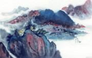 中国风水墨画 宽屏壁纸 壁纸18 中国风水墨画 宽屏壁 系统壁纸