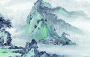 中国风水墨画 宽屏壁纸 壁纸19 中国风水墨画 宽屏壁 系统壁纸