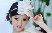 中国美女景甜宽屏 系统壁纸