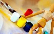 画笔颜料 2 12 画笔颜料 炫彩壁纸