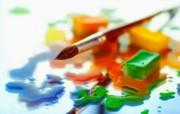 画笔颜料 2 11 画笔颜料 炫彩壁纸