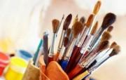 画笔颜料 2 1 画笔颜料 炫彩壁纸