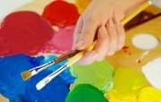 画笔颜料 1 19 画笔颜料 炫彩壁纸