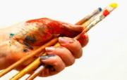 画笔颜料 1 18 画笔颜料 炫彩壁纸
