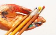 画笔颜料 1 17 画笔颜料 炫彩壁纸