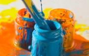 画笔颜料 1 16 画笔颜料 炫彩壁纸
