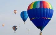 五彩热气球 1 20 五彩热气球 炫彩壁纸