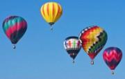 五彩热气球 1 19 五彩热气球 炫彩壁纸