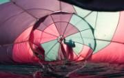 五彩热气球 1 9 五彩热气球 炫彩壁纸