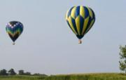 五彩热气球 1 8 五彩热气球 炫彩壁纸