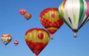 五彩热气球 1 6 五彩热气球 炫彩壁纸