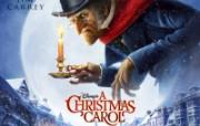 A Christmas Carol 圣诞颂歌桌面壁纸 北美新上映电影壁纸合集2009年11月版 影视壁纸