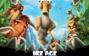 《冰河世纪3 Ice AgeDawn of the Dinosaurs 》电影壁纸 影视壁纸