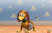 玩具总动员3 Toy Story 3 电影壁纸 slinky 弹簧狗壁纸下载 《玩具总动员3 Toy Story 3 》 影视壁纸
