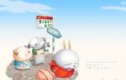 流氓兔 MashiMaro 可爱壁纸 壁纸92 流氓兔 MashiM 游戏壁纸